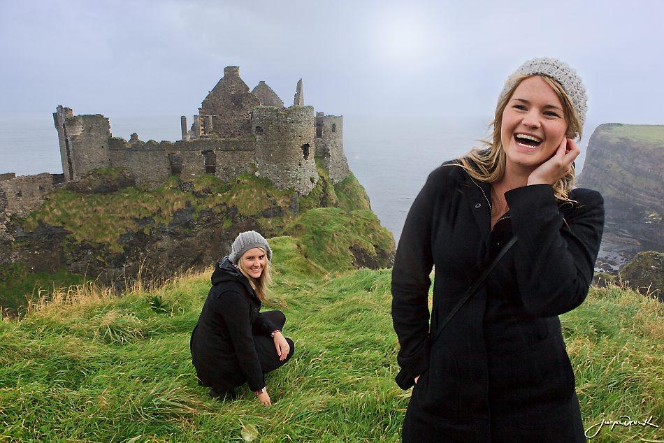 Echt Ierland, Dunluce Castle, Rondreis ierland