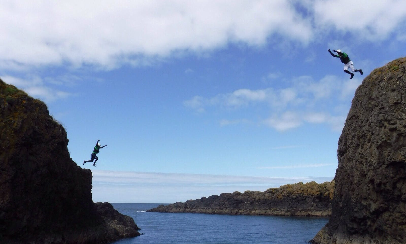 Coasteering NI, Echt Ierland