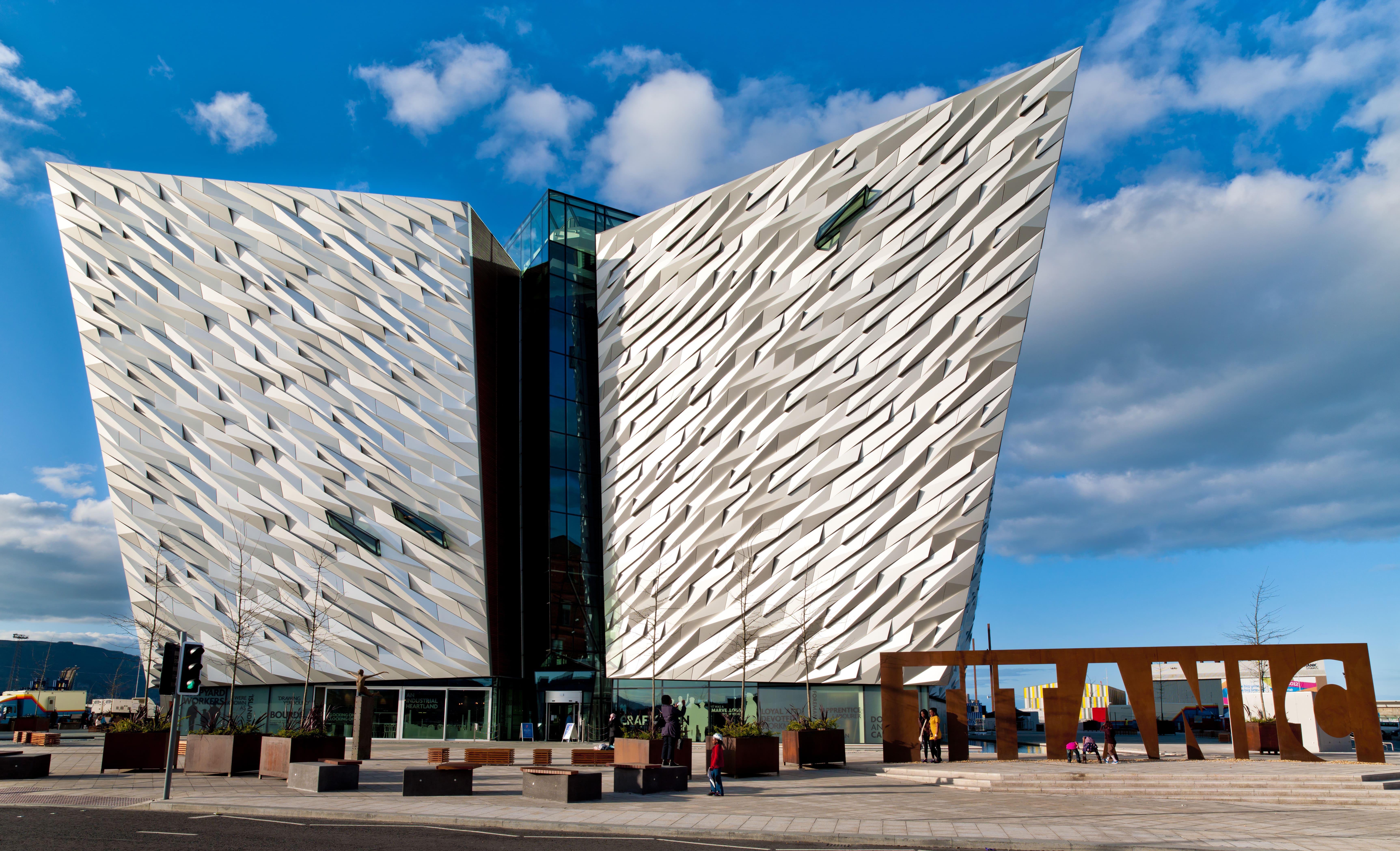 Titanic Quarter, Belfast, Noord-Ierland
