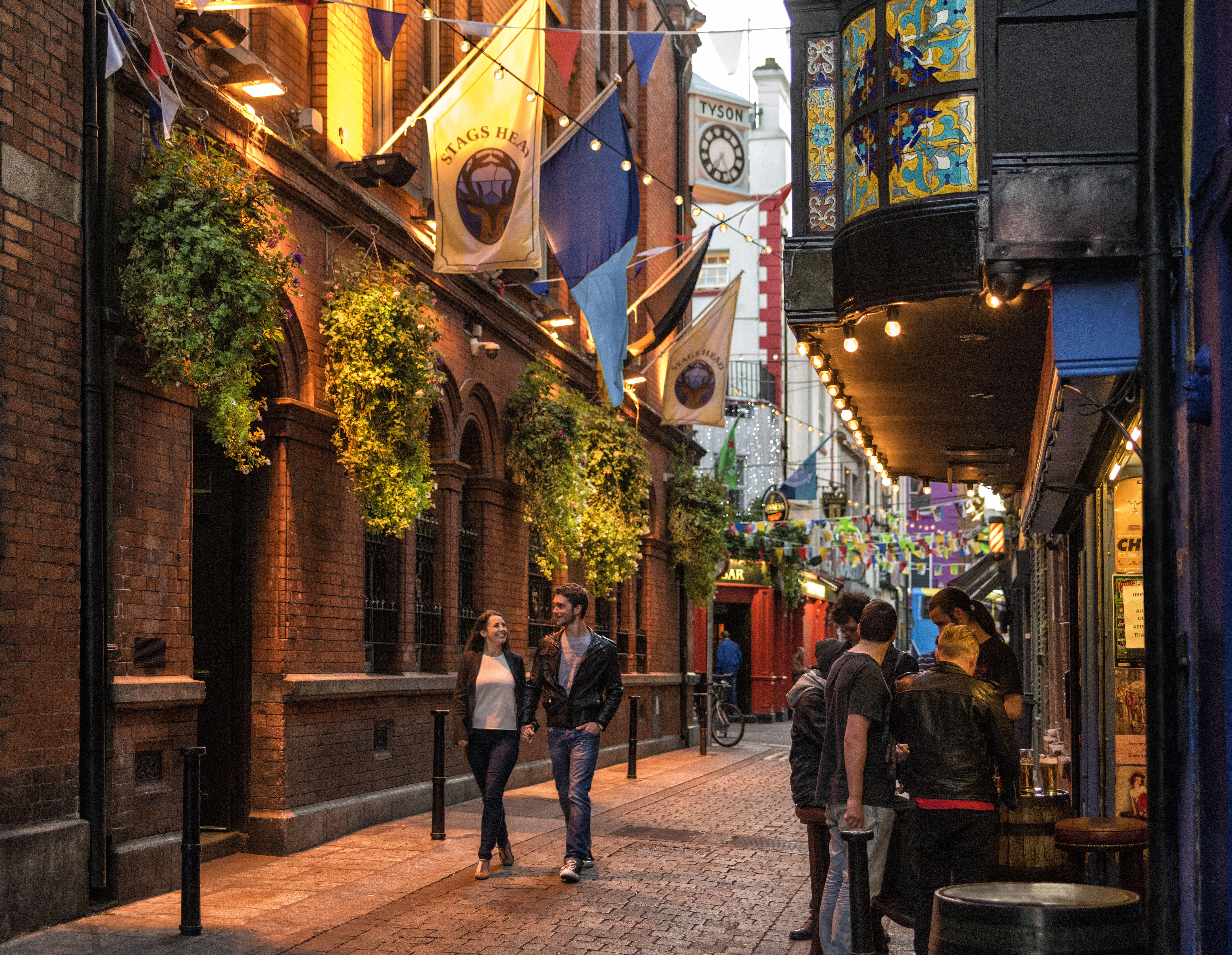 Dublin, Echt Ierland