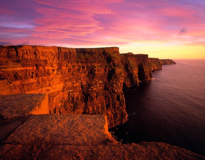 Cliffs of Moher, Echt Ierland