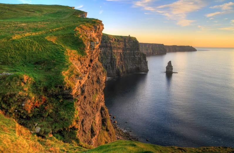 Cliffs of Moher, Echt Ierlands