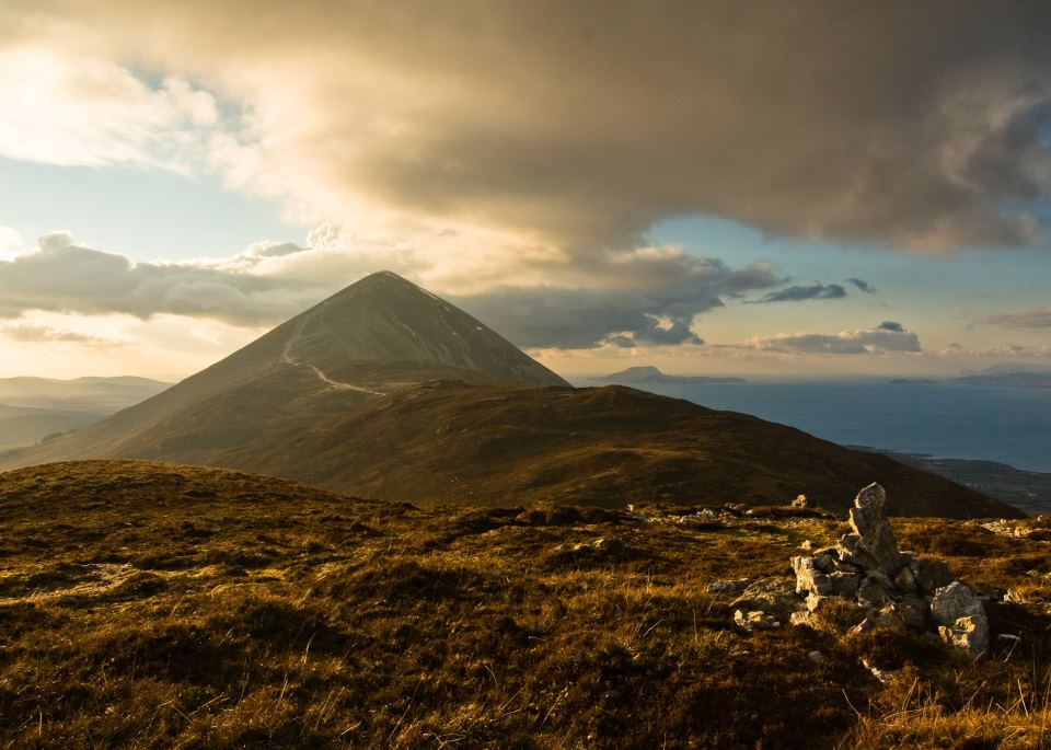 Echt Ierland, County Mayo, Croagh Patrick, Fly drive ierland