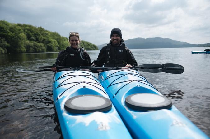 Koppel met kano, Echt Ierland