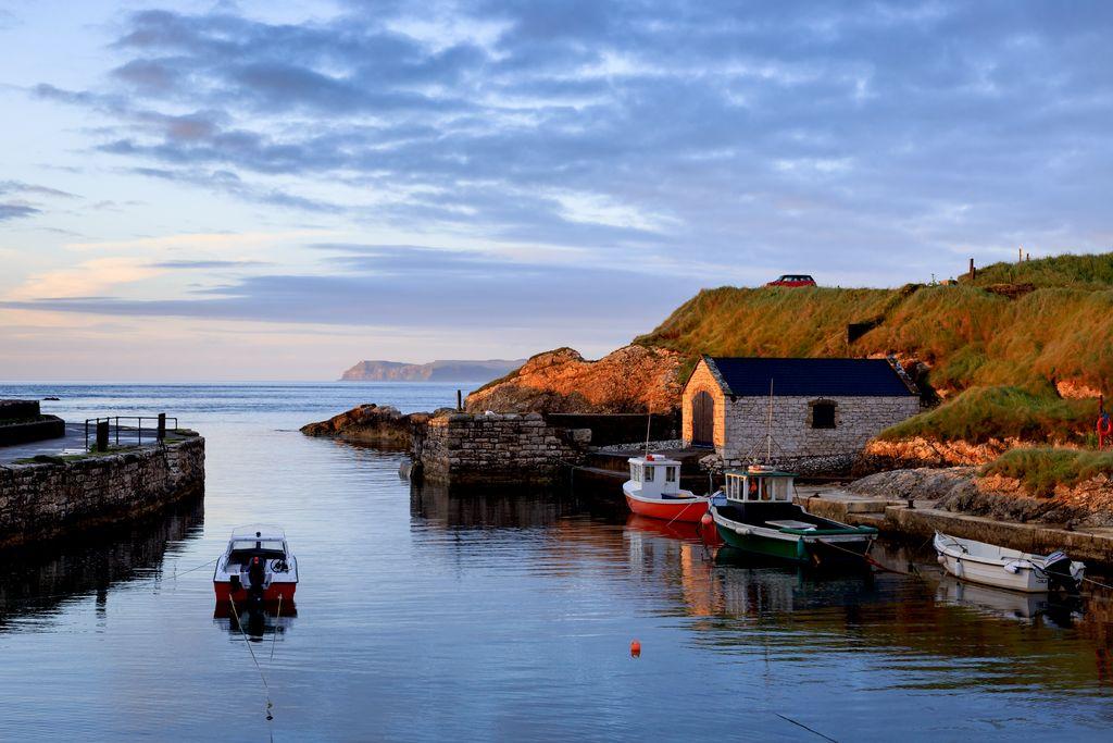 Ballintoy Harbour, Echt Ierland