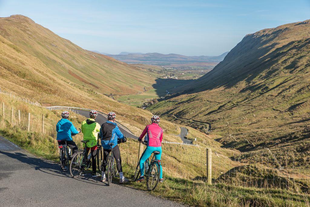 Ierland met de fiets, Donegal, Echt Ierland