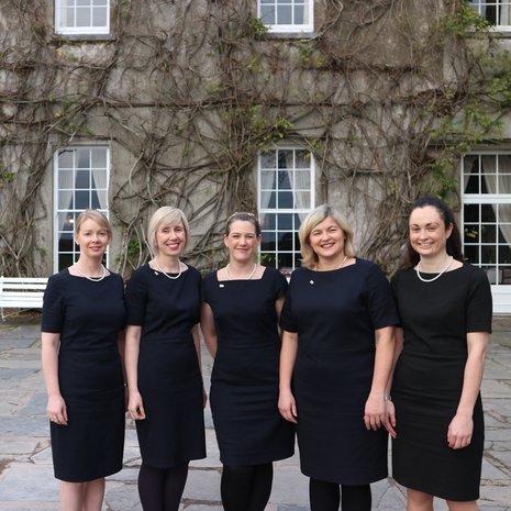 Ballymaloe Country House, Front House staff, Shanagarry, Ierland wandelreizen