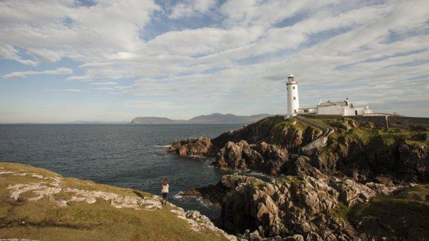 Echt Ierland, Donegal, Fanad Head, Rondreis ierland