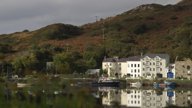 Echt Ierland, Clifden, The Quay House