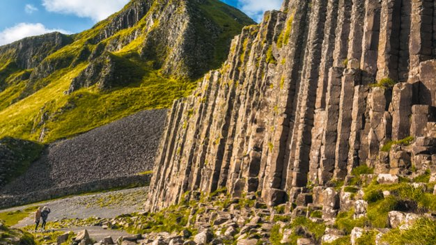 Echt Ierland, County Antrim, Giant's Causeway, Fly drive ierland