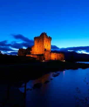 Echt Ierland, Killarney, Ross Castle, Rondreis ierland