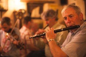 Echt Ierland, Traditionele live muziek