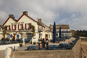 Echt Ierland, Dunmore East, The Strand Inn, Rondreis ierland