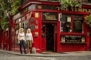 Echt Ierland, Dublin, Temple Bar, Vakantie ierland