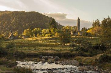 Echt Ierland, Wicklow Mountains, Glendalough, Vakantie ierland