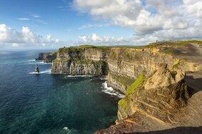 Echt Ierland, Cliffs of Moher, Vakantie ierland