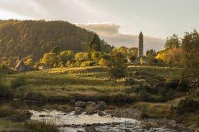 Echt Ierland, Wicklow Mountains, Glendalough