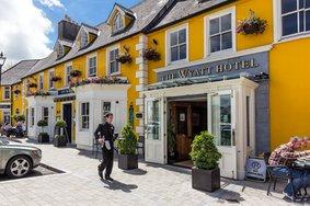 Echt Ierland, Westport, Wyatt Hotel, Ierland reizen