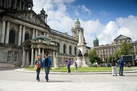 Echt Ierland, Belfast, City Hall, Vakantie ierland