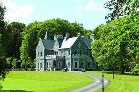 Echt Ierland, Ballina, Mount Falcon Estate, Vakantie ierland